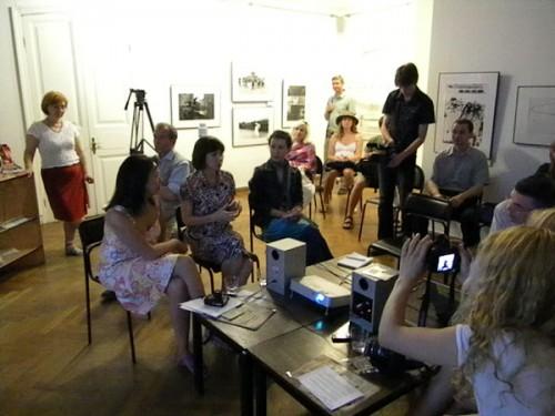 """Пресс-конференция в """"Доме Метенкова"""""""