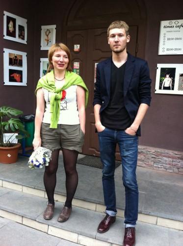 Настасья Пилецкая и Антон Курбатов