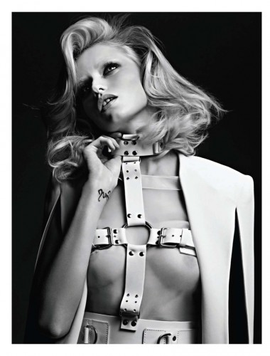 Любовь холоднее, чем смерть  Abbey Lee Kershaw by Hedi Slimane for Vogue Russia April 2011
