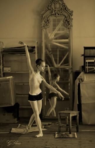 Георгий Шуз: Пробы молодой балерины