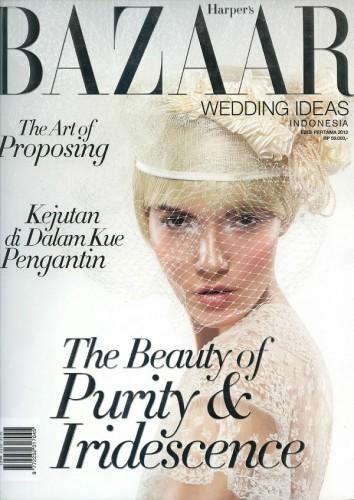 Renya for Harper's Bazaar Wedding Indonesia May 2012 Cover