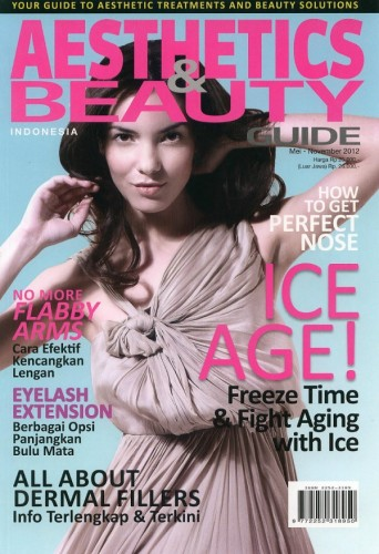 Renya for Aesthetics & Beauty Guide May 2012 Cover (Indonesia)