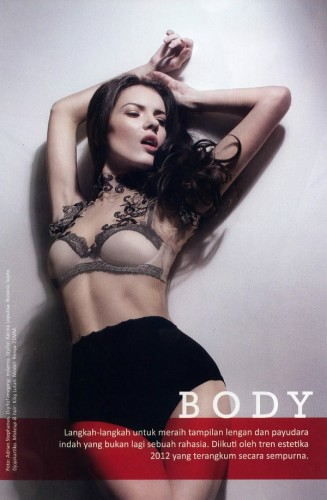 Renya for Harper's Bazaar Indonesia May 2012