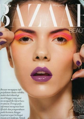 Renya for Harper's Bazaar Indonesia June 2012