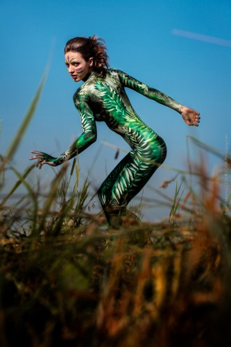 Евгений Литвинов: Horsejunction. Body art project.