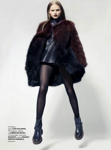 Марина Ромашина, фотограф Юрий Лишенко, WTF Magazine №12