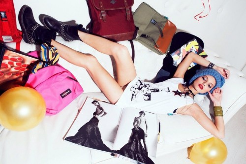 Марина Ромашина, фотограф Ксения Ветрова, съемка для SUNDAY UP MARKET EKATERINBURG