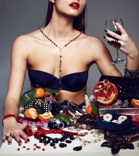 Kseniya Vetrova for BIZHOU, model – Marina Romashina