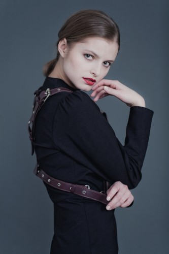 Marina Romashina, photograph by  Artem Surkov for  баррикадка.рф