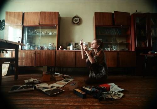 Фотограф Александра Кузык: автопортреты