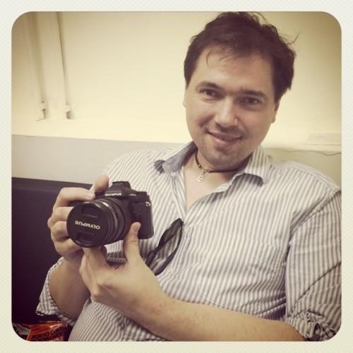 Станислав Пучковский: Я должен снимать на фотоаппарат Olympus