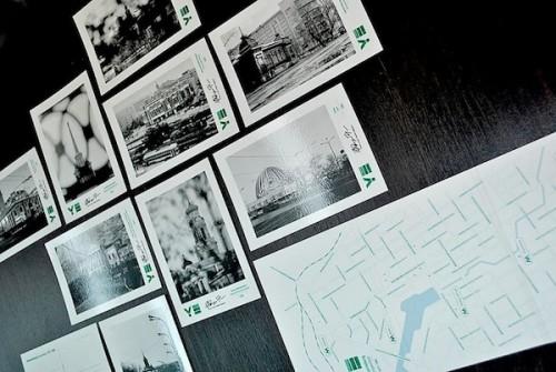 itsmycity.ru: Дизайнер из Екатеринбурга выпустил набор открыток, посвященных нашему городу.