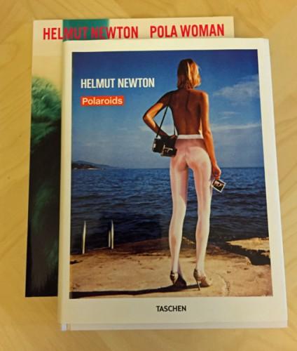 Альбомы Хельмута Ньютона с моментальными снимками
