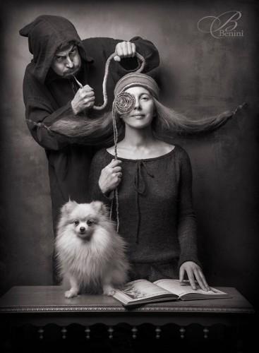 Фотофестиваль Prague TAKEAWAY, мастер-класс Илоны Пулкстене «Создание художественного образа модели — мира иллюзий, где обычные вещи приобретают новый смысл»
