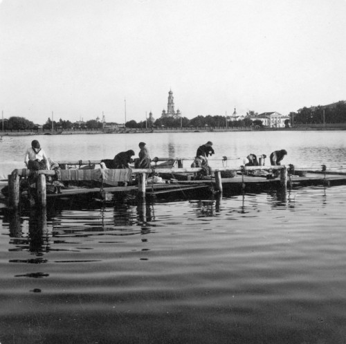 В.Метенков.Городской пруд. 1900-е годы.
