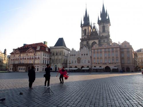 Староместская площадь — вариация третьего варианта