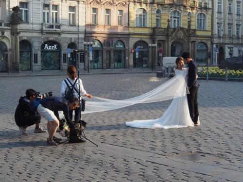 Фотография на Староместской площади