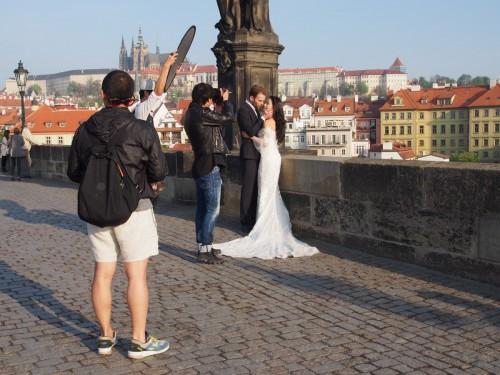 Карлов мост — мастер-класс по свадебной фотосъёмке