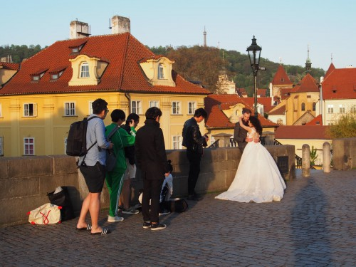 Charles Bridge: Wedding photo workshop