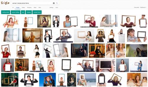 Принтскрин выдачи поисковой системы Google