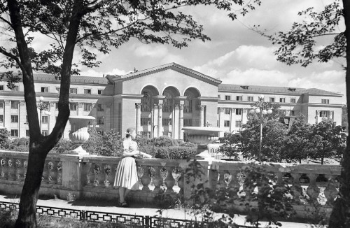Свердловск. 1954 год. Фото Б.Назарова (ГАСО)