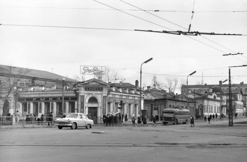 Улица Карла Либкнехта. 1964 год. Фото Р.Катаева (ГАСО)