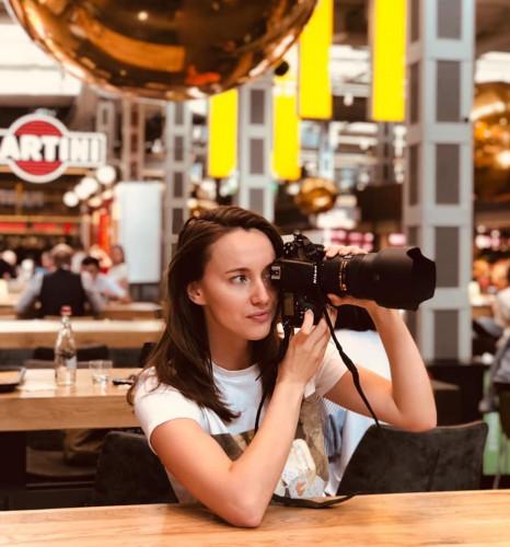 Татьяна Токарева, фуд-фотограф.