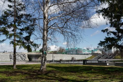 Фотограф Максим Лоскутов: Екатеринбург на карантине