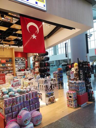 В аэропорту Стамбула
