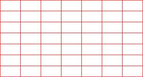 Маска Фибоначчи 6 линии на 6 линий.
