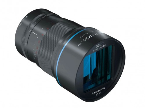 SIRUI 50mm F1.8 Anamorphic 1.33X Lens для SONY. Изображение с сайта производителя.