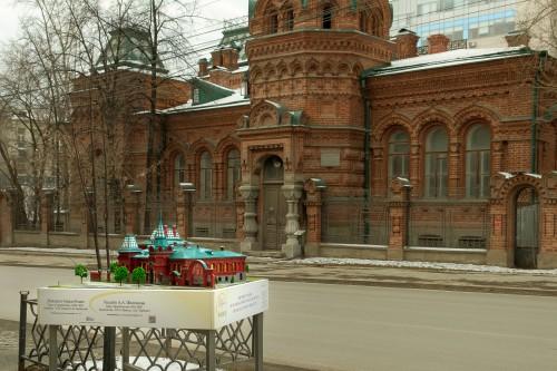 Усадьба А.А. Железнова. Екатеринбург, ул. Розы Люксембург, 56. Фото: Дмитрий Дегтярь