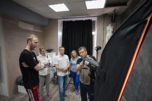 Станислав Белоглазов проводит мастер-класс в новой студии MAGNET